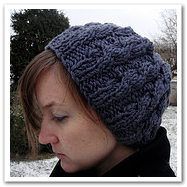 speedy cabled beret