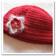 Bonnet Noël en hiver