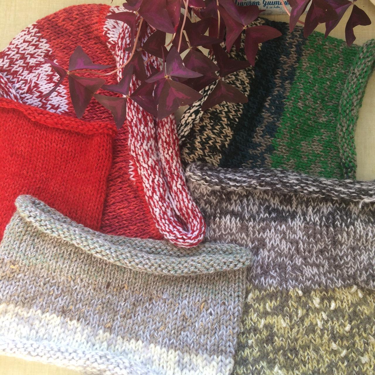 cols tricot pour les sans abris