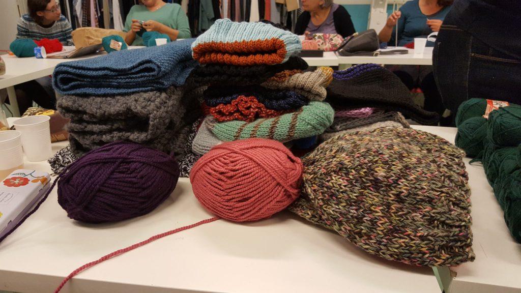 tricot pour les sans-abri provins